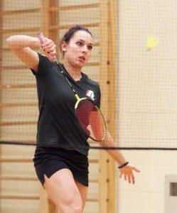 Sabrina Lévesque-Bouchard est sortie grandie de son expérience de championnat canadien universitaire. Photo: Benoît Villemure