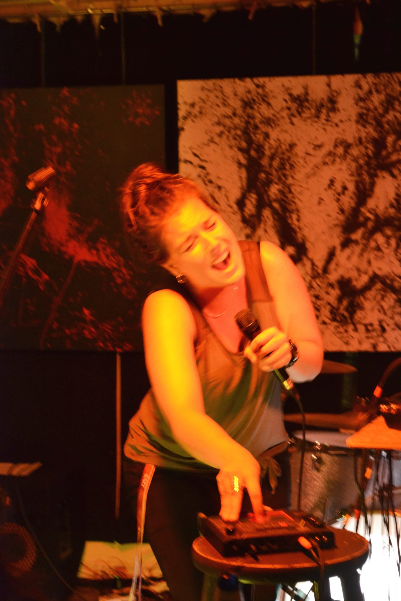 La chanteuse Élise Rivard est également diplômée à la maitrise en orthophonie de l'UQTR. Photo: A. Lemieux