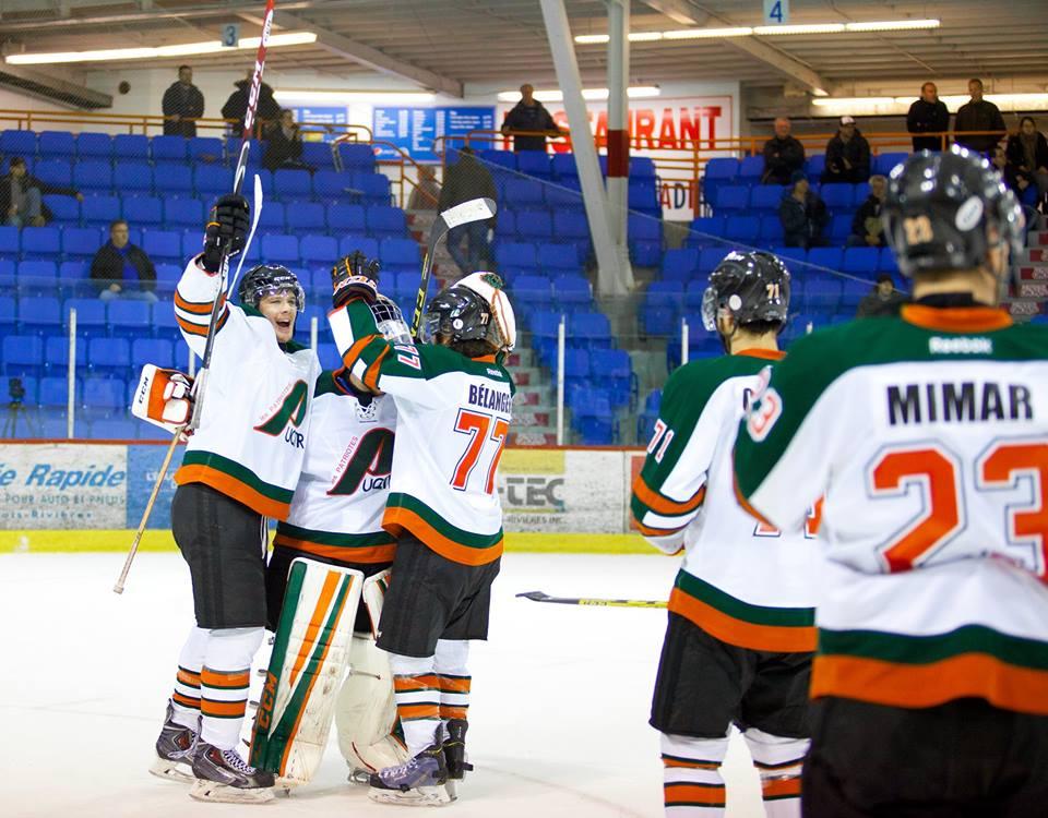 Les Patriotes auront rendez-vous avec les Ravens de Carleton lors de la finale de l'association Est des Sports universitaires de l'Ontario. Photo: Benoit Villemure
