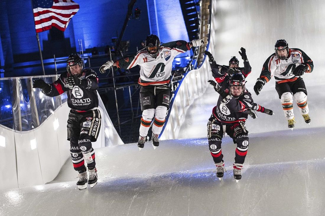 Olivier Larouche figure présentement au 69e rang mondial en Ice Cross Downhill. Photo: Joerg Mitter