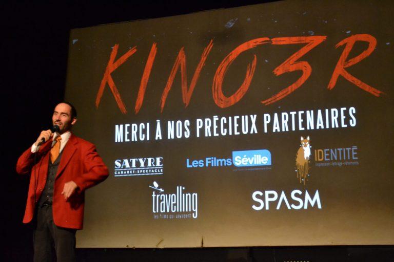Soirée KINO3R automnale: Cinéphiles au rendez-vous