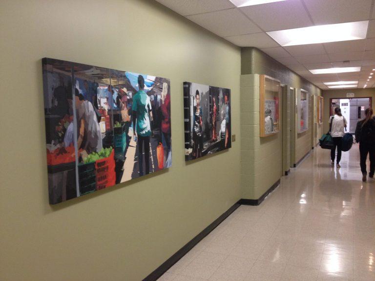 Arts visuels sur le campus: Une peinture numérique