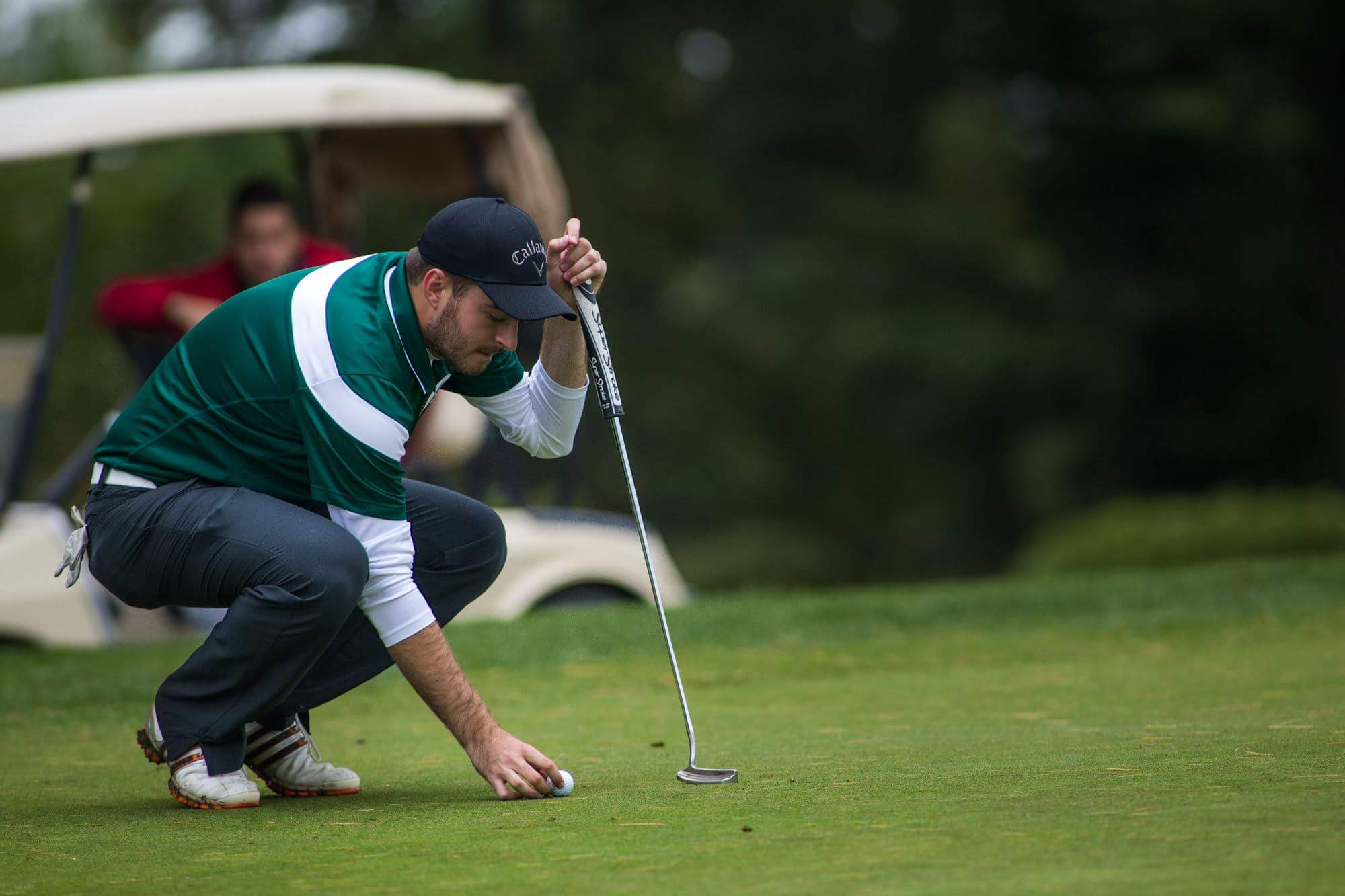 La formation de golf des Patriotes de l'UQTR s'est classée au troisième lors du championnat provincial qui avait lieu au Ki-8-EB. Photo: Patriotes.