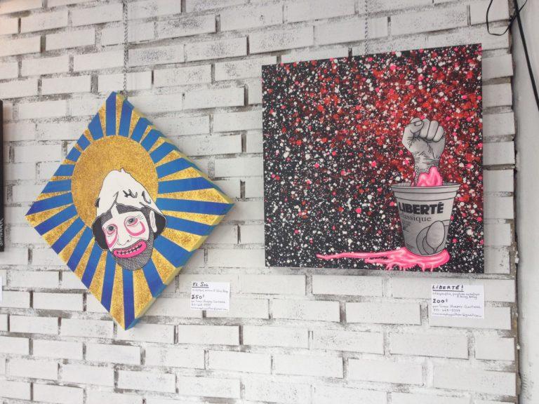 Vernissage au Café Frida: Une dose de maturité pour Simonak