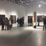 Les œuvres abstraites de grands formats occupent la Galerie R3 jusqu'au 25 novembre prochain.