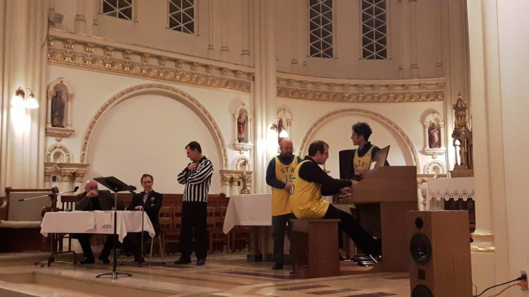 Soirée d'improvisation à l'orgue: Match hors du commun organisé par Pro-Organo