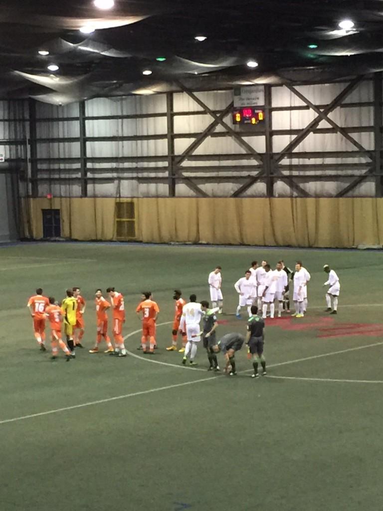 L'équipe de soccer masculin est en bonne position dans la course au championnat. Photo: Patriotes