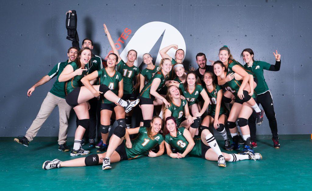 Une équipe soudée qui a connu une saison de rêve. Photo: Patriotes