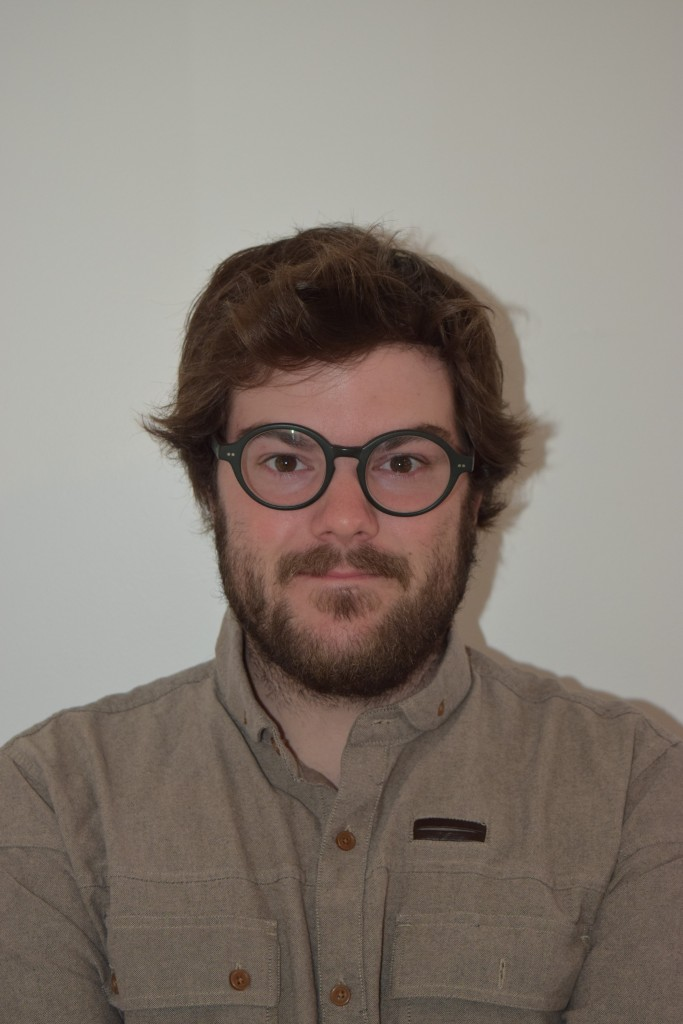 Gabriel Senneville, étudiant de 3e année à la maitrise en études québécoises à l'UQTR. Photo: Chloé Rousseau.