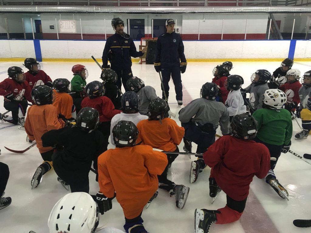 Les Patriotes en hockey ne chôment pas l'été avec la tenue de l'École de Hockey des Patriotes. Photo: Patriotes UQTR