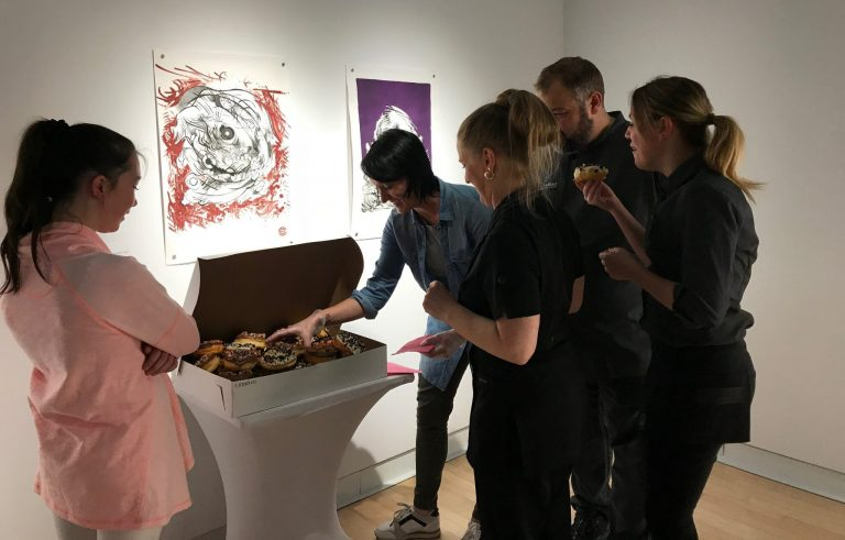 Centre d'exposition Raymond-Lasnier: Déguster la vie artistique
