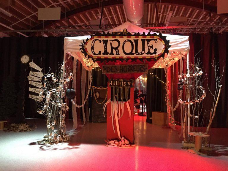 Art-Borèsens 2017: Un événement sombre et  coloré sur le thème du cirque