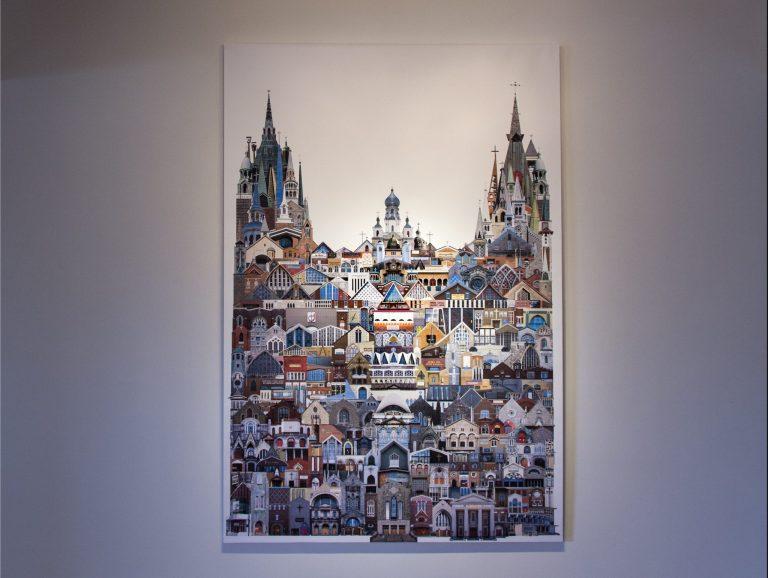 «Visages», de Virginie Bergeron St-Martin: L'œuvre aux cent clochers