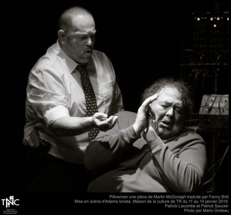 Théâtre des Nouveaux Compagnons — «Le Pillowman»: Confessions sous l'oreiller