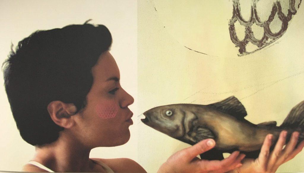 Marie-Jeanne Decoste. Rencontre amphibie, 2008. Crédit: Marie-Jeanne Descoste