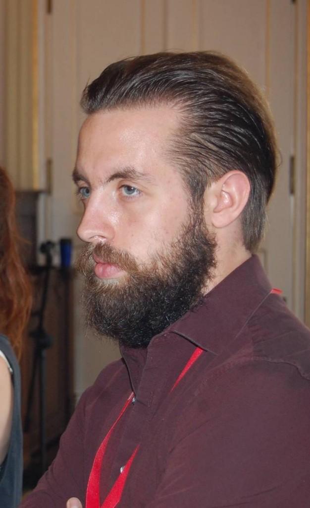 Samuel Rabouin lors de la SPECQUE à Prague en 2017. Photo: Gracieuseté