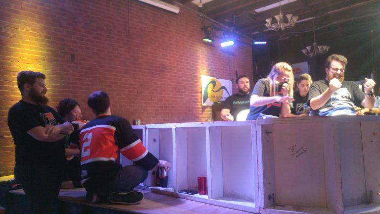 LUITR: Bleus contre Oranges, un match mouvementé