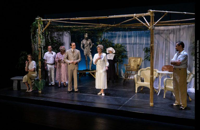 Théâtre des gens de la place: Soudain l'été dernier