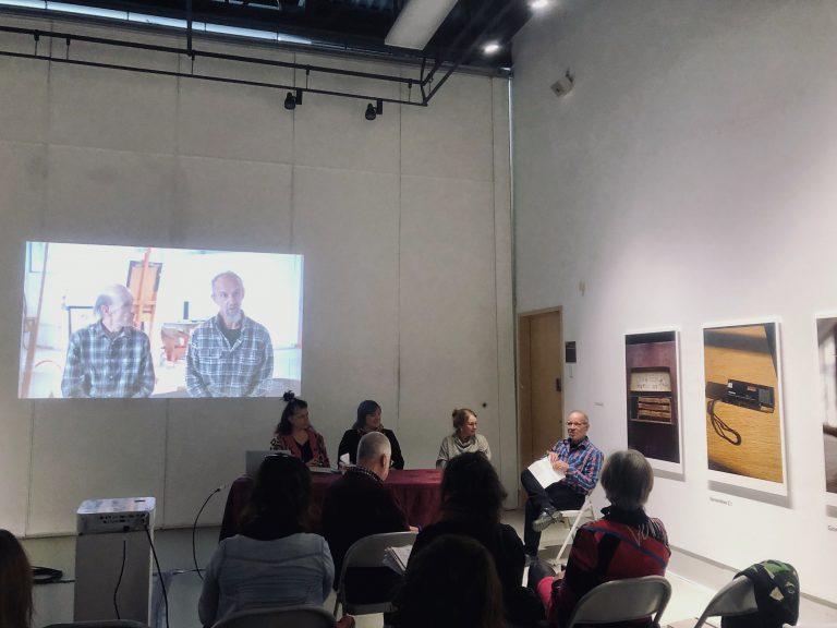 Conférence sur les ateliers d'artistes: Laurier Lacroix à la Galerie R3