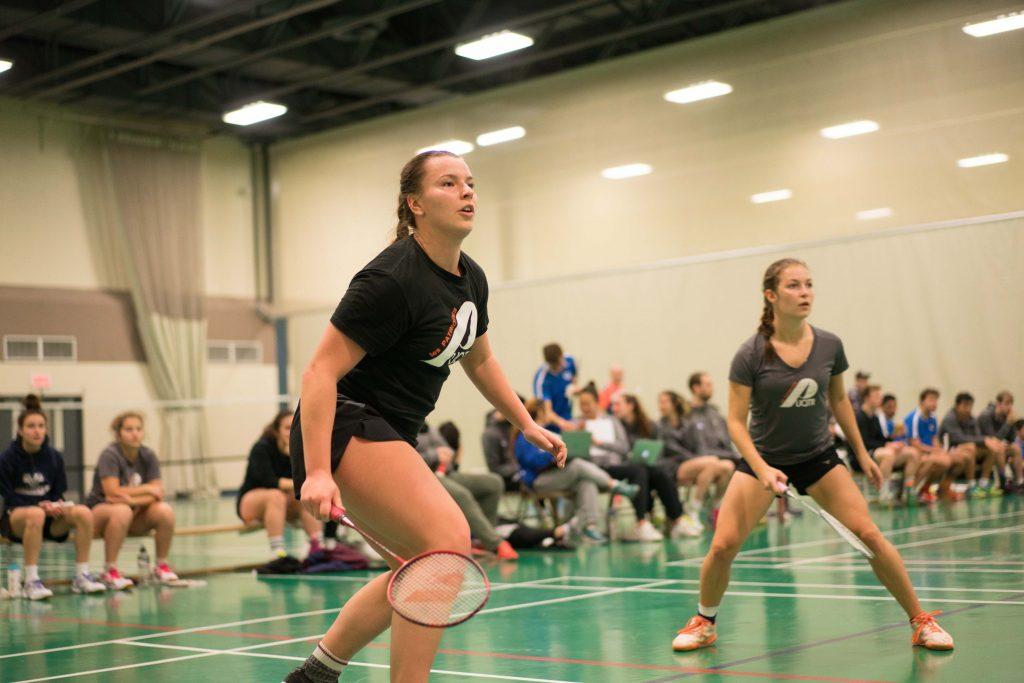 patriotes badminton féminin