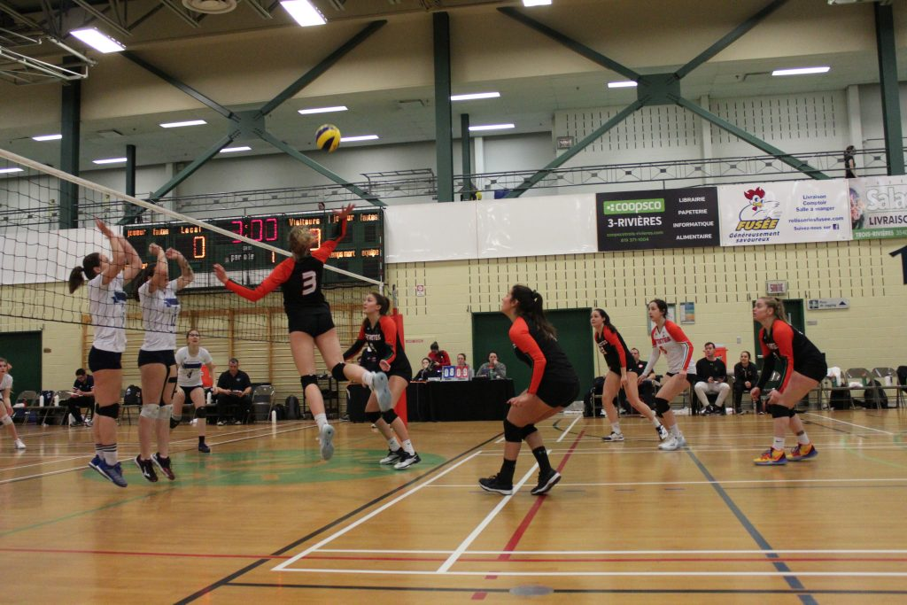 volleyball féminin uqtr patriotes