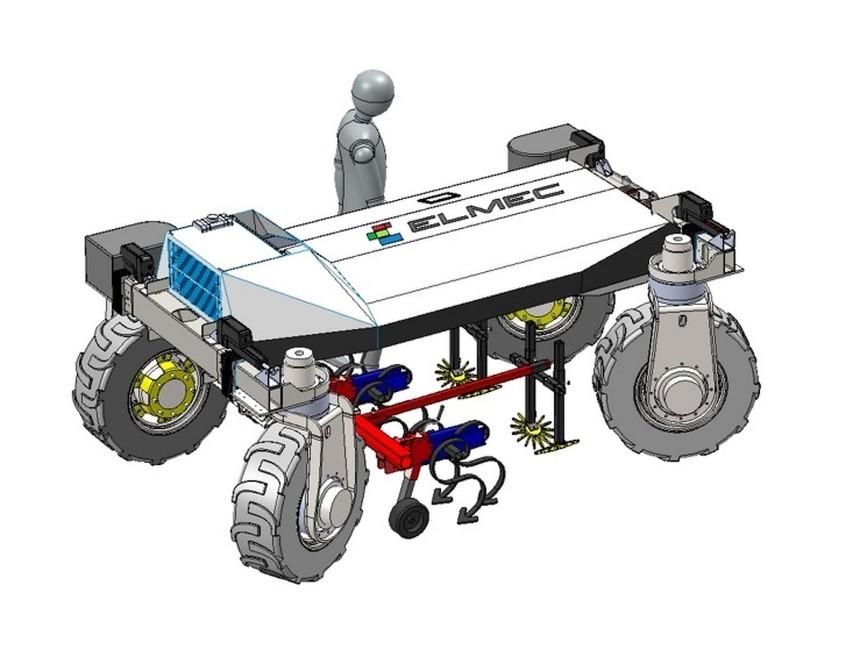 Description : Elmec veut révolutionner l'industrie agricole robotisation