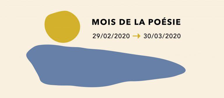 Lancement du Mois de la poésie 2020: une programmation diversifiée