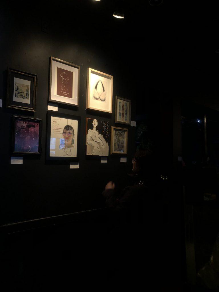 «ELLES» : Exposition collective de femmes au Bar l'Embuscade