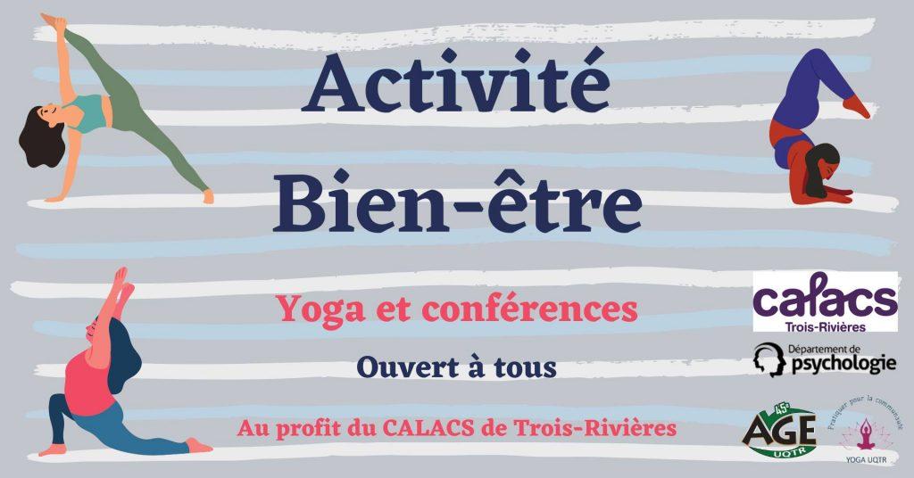 activité bien-être age uqtr yoga