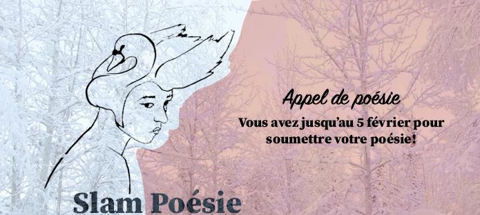Bannière du groupe Slam Poésie Trois-Rivières