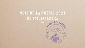 Mois de la poésie, poésie, Québec, poèmes, poètes, poétesse